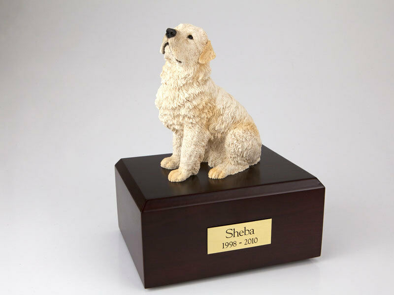 Flanders Pet Funeral Cremation Urn Available in 3 Different Colors & 4 Sizes