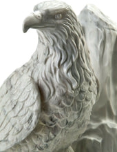 Small/Keepsake 12 Cubic Inches Eagle at Rest Sculptured Resin Cremation Urn