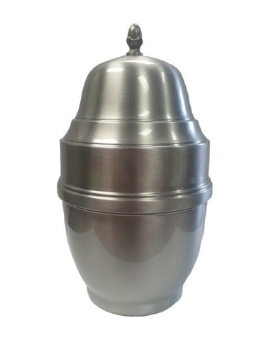 Large/Adult 200 Cubic Inch Pewter Midas Funeral Cremation Urn for Ashes
