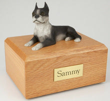 Boston Terrier Pet Funeral Cremation Urn Avail in 3 Different Colors & 4 Sizes