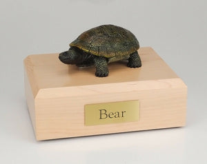 Turtle Figurine Wildlife Cremation Urn Available in 3 Different Colors & 4 Sizes