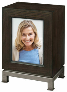 Howard Miller 800-226 (800226) Metro II Mantel Cremation Urn for Ashes,275 inch