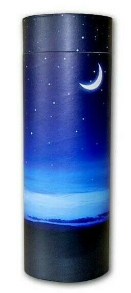 Large/Adult 250 Cubic Inch Night Sky Funeral Cremation Scattering Tube for Ashes