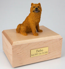 Load image into Gallery viewer, Chow Chow Pet Funeral Cremation Urn Available in 3 Different Colors & 4 Sizes