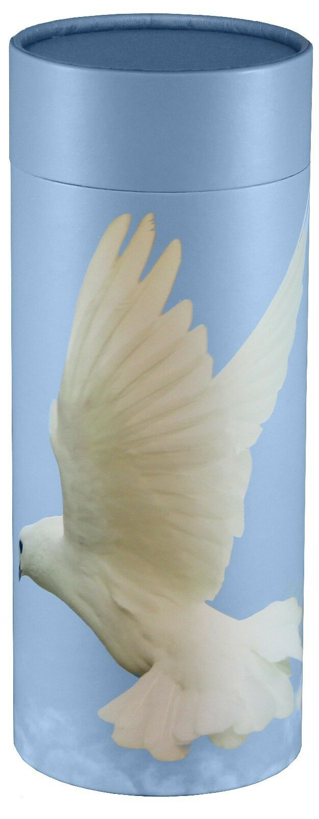 Biodegradable Ash Scattering Tube Funeral Cremation Urn - 240 cubic inches