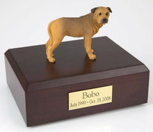 Load image into Gallery viewer, Bull Mastiff Pet Funeral Cremation Urn Available in 3 Different Colors 4 Sizes
