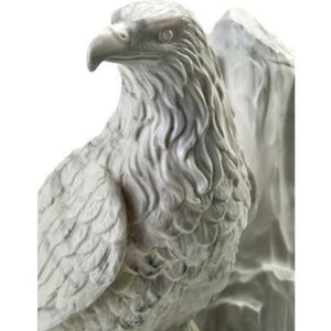 Adult 209 Cubic Inch Eagle at Rest Sculptured Resin Cremation Urn with Nameplate