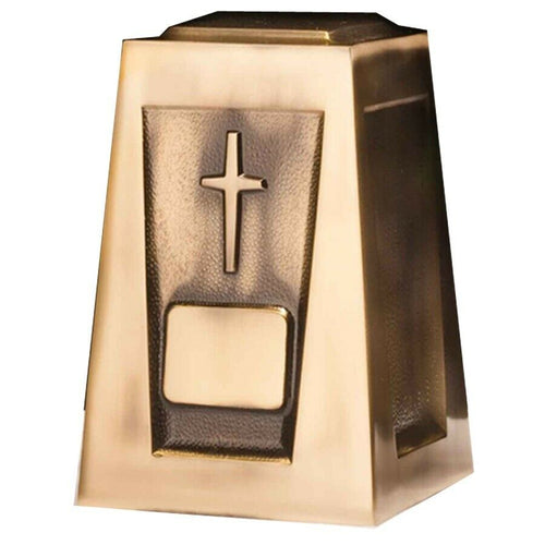 Large/Adult 205 Cubic Inch Olympus Cross Funeral Cremation Urn for Ashes