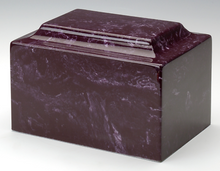 Load image into Gallery viewer, Classic Merlot Infant/Pet/Child Cremation Urn, 100 Cubic Inches, TSA Approved