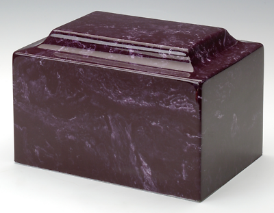 Classic Merlot Infant/Pet/Child Cremation Urn, 100 Cubic Inches, TSA Approved
