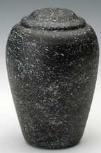 Load image into Gallery viewer, Grecian Stone Tone Nocturne Adult Cremation Urn, 190 Cubic Inches, TSA Approved
