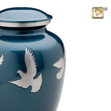 Flying Doves Keepsake Funeral Cremation Urn, 3.5 Cubic Inches