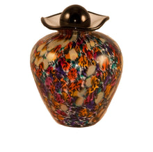 100 Cubic Inch Rome Desert Funeral Glass Cremation Urn for Ashes
