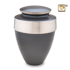 Slate Eternity Adult Funeral Cremation Urn, 300 Cubic Inches