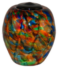 Large/Adult 220 Cubic Inch Florence Autumn Funeral Glass Cremation Urn for Ashes