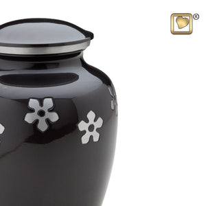 Forget- Me- Not Keepsake Funeral Cremation Urn, 3.5 Cubic Inches