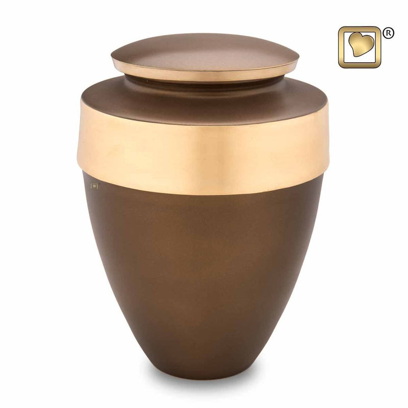 Auburn Eternity Adult Funeral Cremation Urn, 300 Cubic Inches