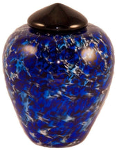 Load image into Gallery viewer, 100 Cubic Inch Florence Water Funeral Glass Cremation Urn for Ashes