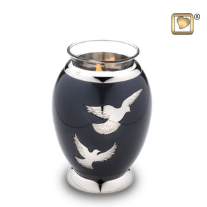 Nirvana Adieu Infant/Child/Pet Tealight Funeral Cremation Urn,  20 Cubic Inches