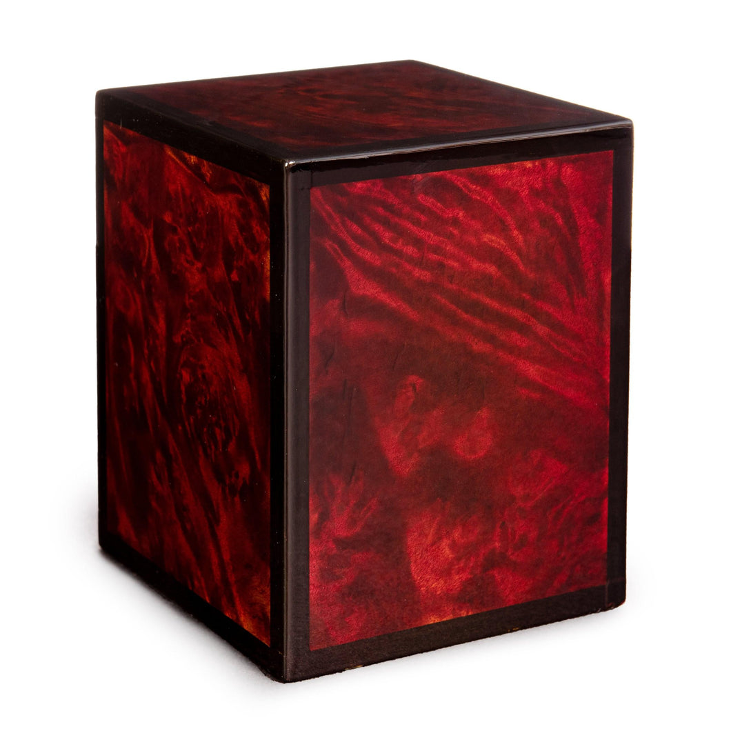 Montreaux 30 Cubic Inches Small/Keepsake Wood Box Cremation Urn for Ashes