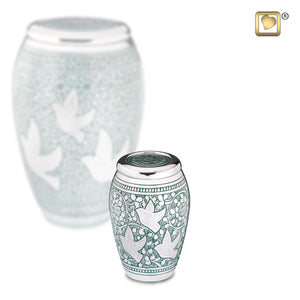 Returning Home Small/Keepsake Funeral Cremation Urn,  4 Cubic Inches