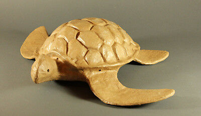 Natural Biodegradable Paper Turtle Urn,Hand Crafted Adult Funeral Cremation Urn
