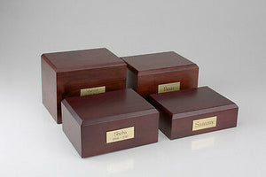 Chihuahua Pet Funeral Cremation Urn Available in 3 Different Colors & 4 Sizes