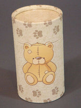 Teddy Bear Biodegradable Ash Scattering Tube Mini Cremation Urn Keepsake