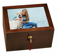 Load image into Gallery viewer, Howard Miller Fidelis III 800-138 (800138) Pet Funeral Cremation Urn Chest