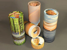 Load image into Gallery viewer, Biodegradable Ash Scattering Tube Cremation Urn - 100 cubic inches