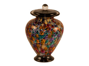 100 Cubic Inch Venice Desert Funeral Glass Cremation Urn for Ashes