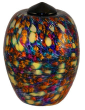 Large/Adult 220 Cubic Inch Florence Desert Funeral Glass Cremation Urn for Ashes