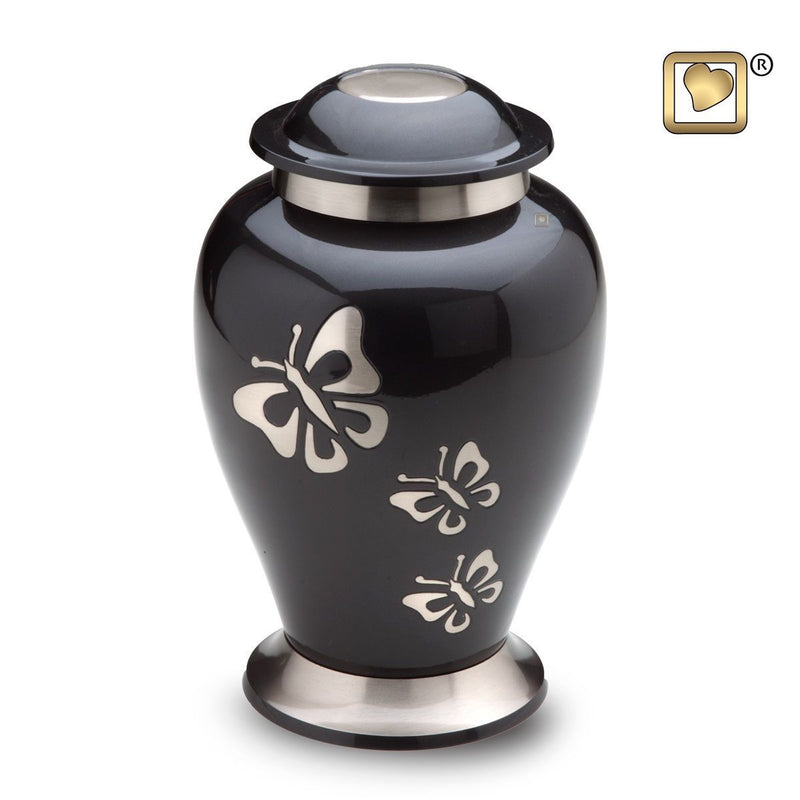 Tribute Butterfly Adult Funeral Cremation Urn,  200 Cubic Inches
