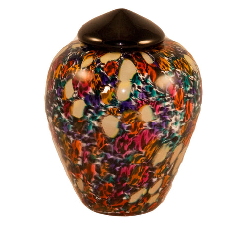 100 Cubic Inch Florence Desert Funeral Glass Cremation Urn for Ashes