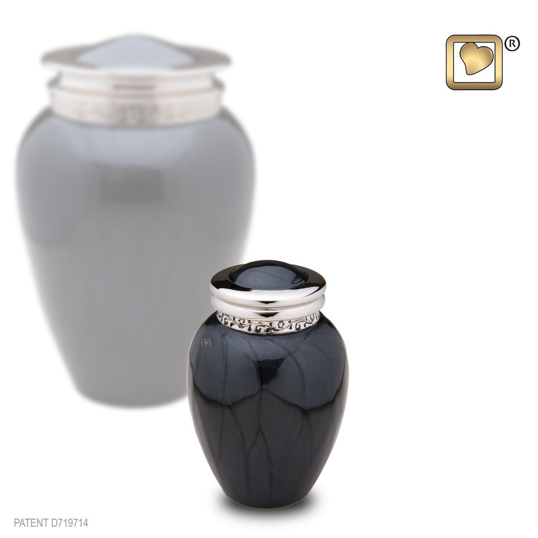 Blessing Midnight Keepsake Funeral Cremation Urn,  4.5 Cubic Inches