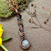 Labradorite Staff in copper