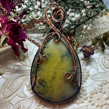 Green Dragons vein in copper