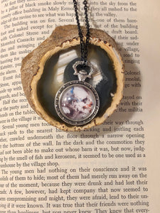 Scary stories pendant