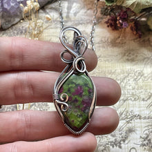 Ruby Zoisite in Sterling