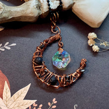 Lava Stone Moon in Copper