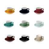 Egg 3oz Espresso Cup & Saucer (Box of 6)