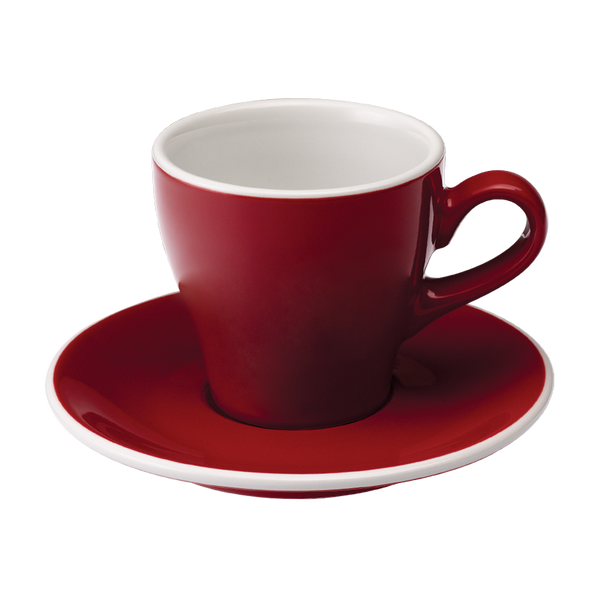 Tulip 6oz / 180ml Cup & Saucer (9 color options)