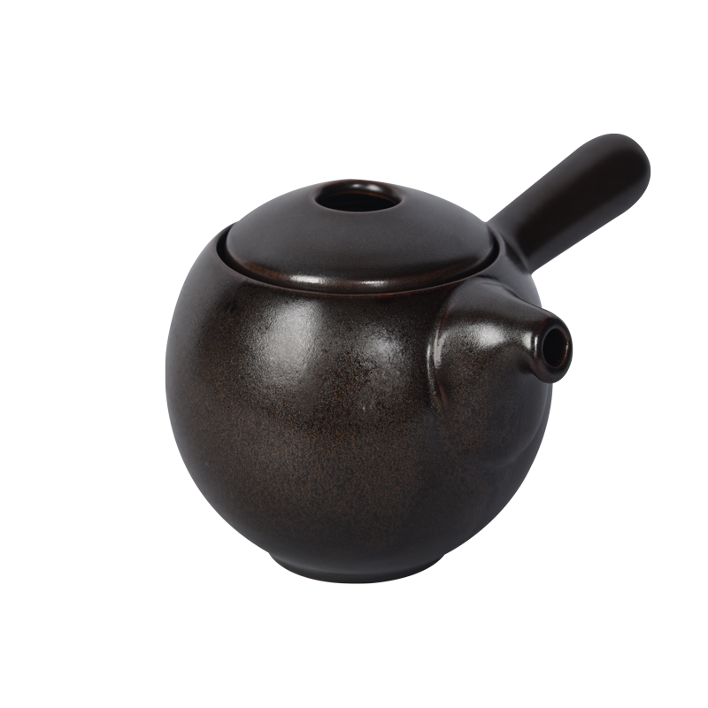 Pro Tea 12oz / 350ml Kyusu Teapot (Gunpowder colorway)
