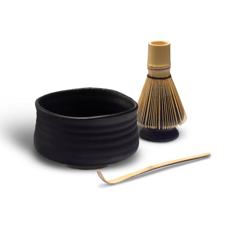 Pro Tea Matcha Bowl Set (Black)