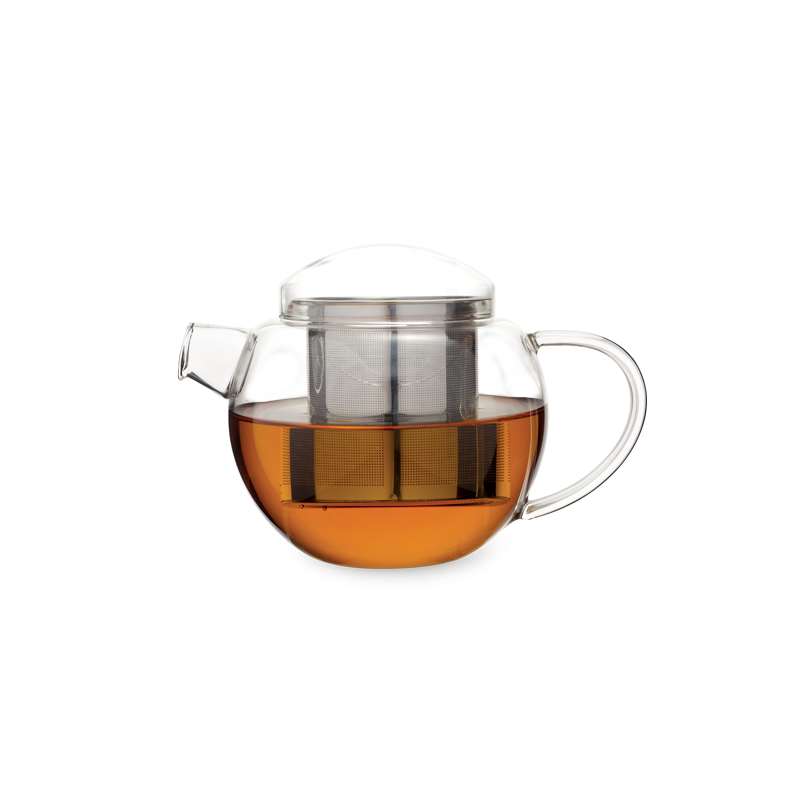 Pro Tea 30oz / 900ml Glass Teapot with Infuser