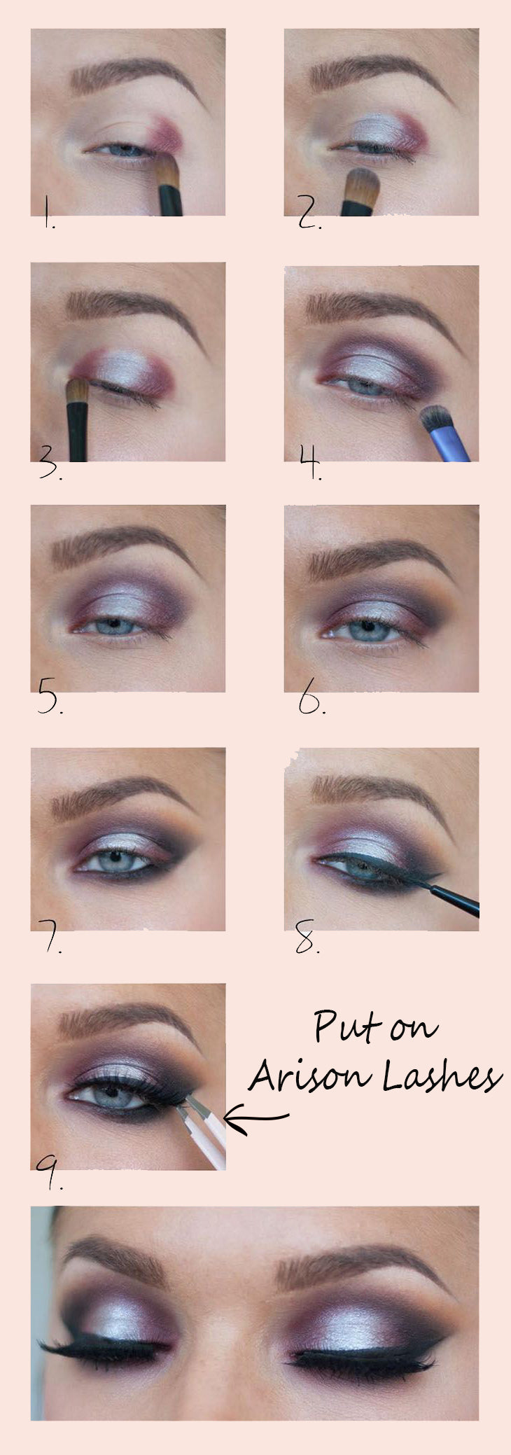 Party Eye Make up Tutorials for You to Rock