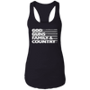 Image of God Guns Family Country Ladies Tank