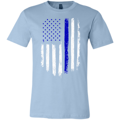 """Thin Blue Line Flag"" Unisex Tee"