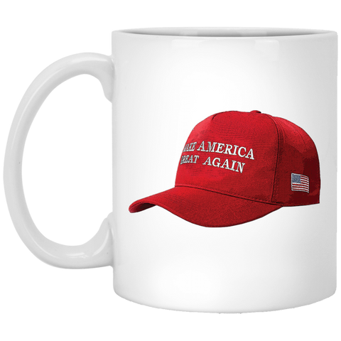 """Make America Great Again Hat"" 11 oz Mug"