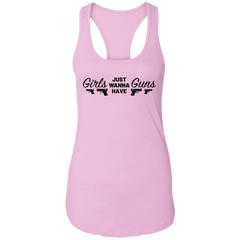 Girls Wanna Have Guns Ladies Tank